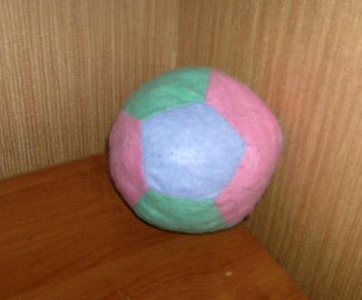 мягкий мячик
