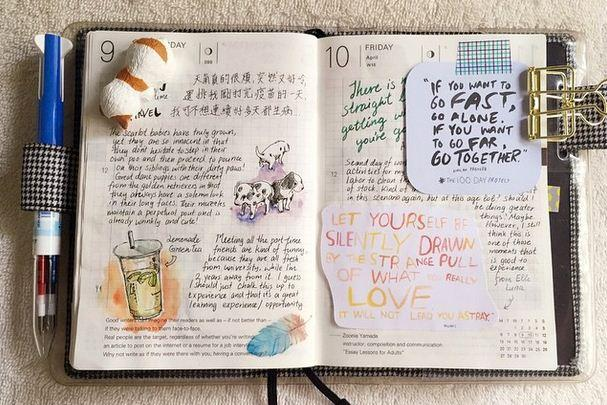 Страничка дневника