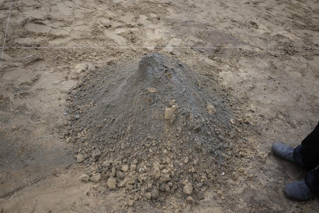 Песок под тротуарной плиткой