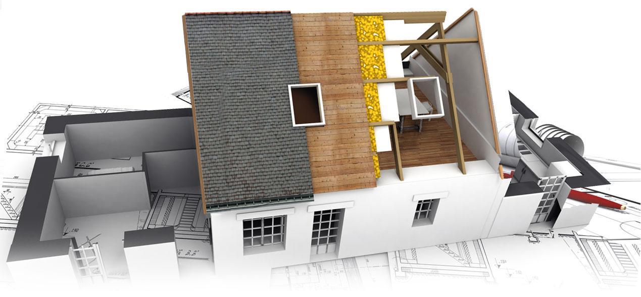 Строительные термины, связанные скрышей дома