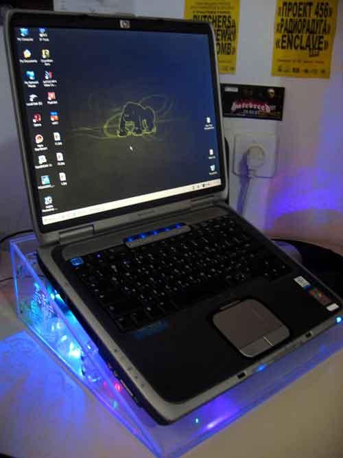 Тепловідвідні підставка для ноутбука своїми руками - майструємо самі