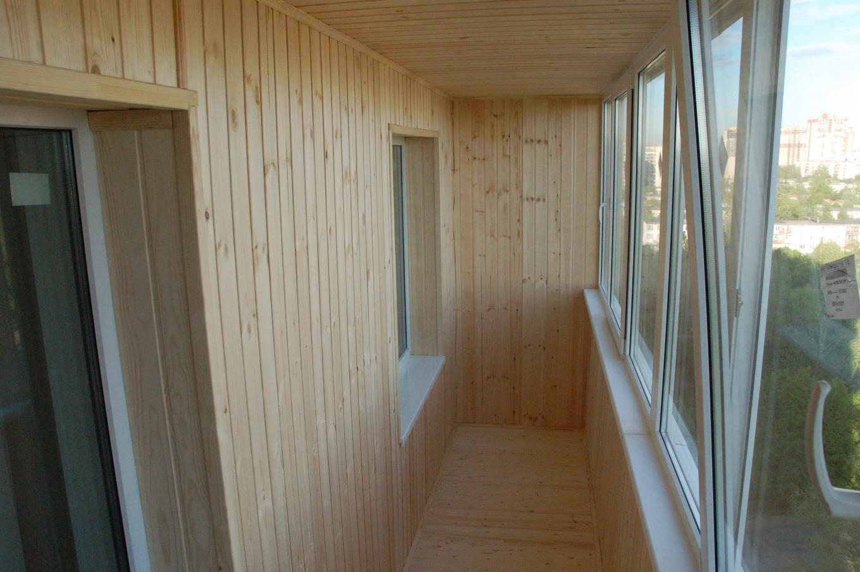 Какие материалы использовать для отделки балкона.