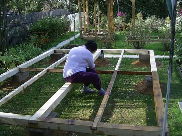 Как построить летнюю кухню на даче своими