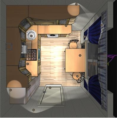 дизайн кухни 9 метров фото