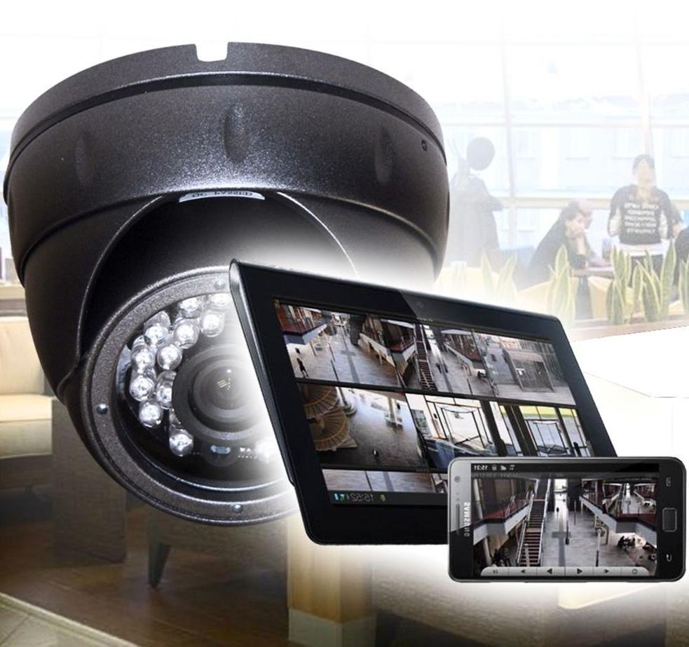 Готовые комплекты видеонаблюдения— простое решение безопасности