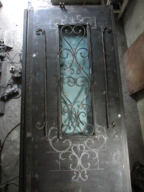 Декорирование двери