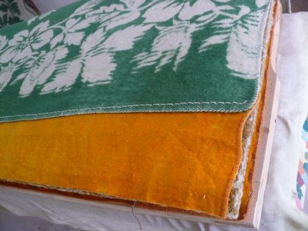 Как закрепить одеяло