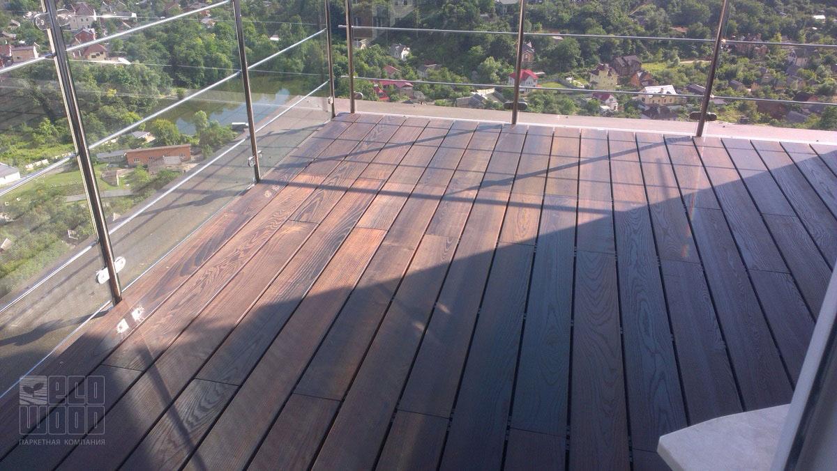 Термоясень на балконе - WM