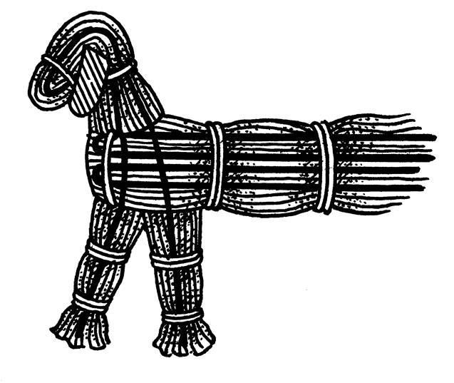 плетение собаки