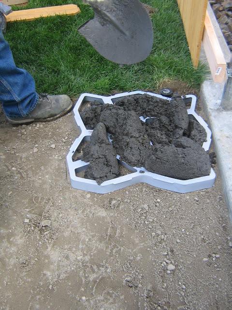 Как сделать цемент для садовой дорожки 133