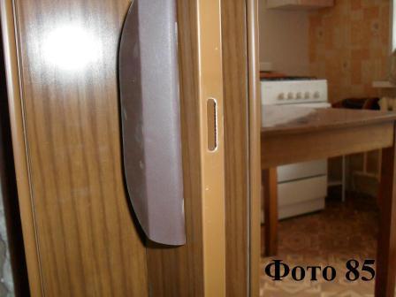 Складная дверь своими руками