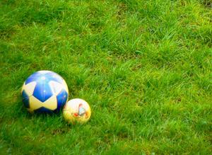 Спортивная площадка на даче