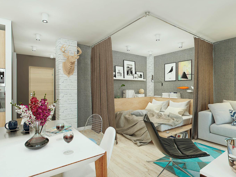 Как умело использовать пространство вмаленькой квартире или хрущевке