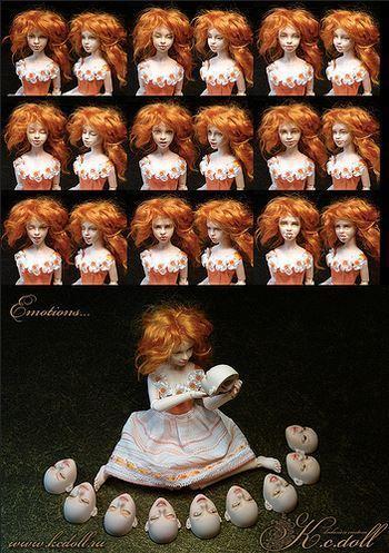 Смена кукольных эмоций