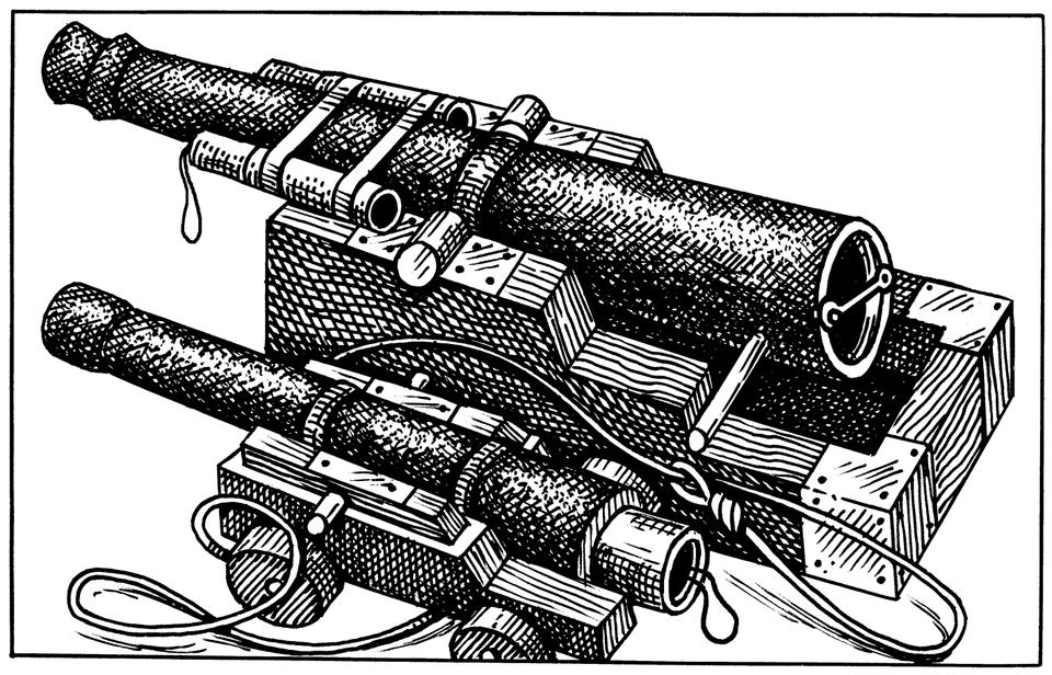 Устройство корабельной пушки