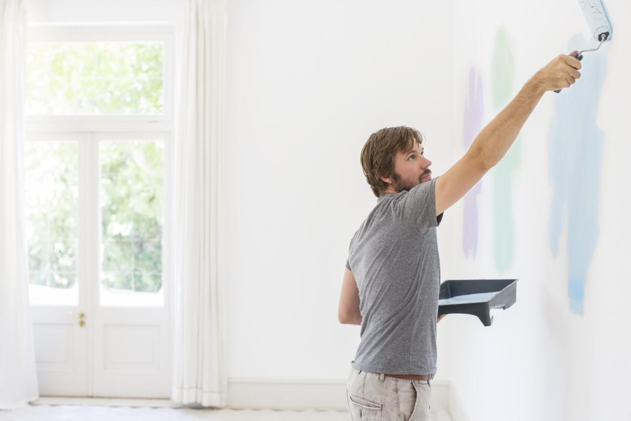 Как красить стены? Крадём идеи упрофессионального маляра