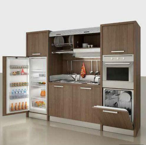 Дизайн мини-кухни