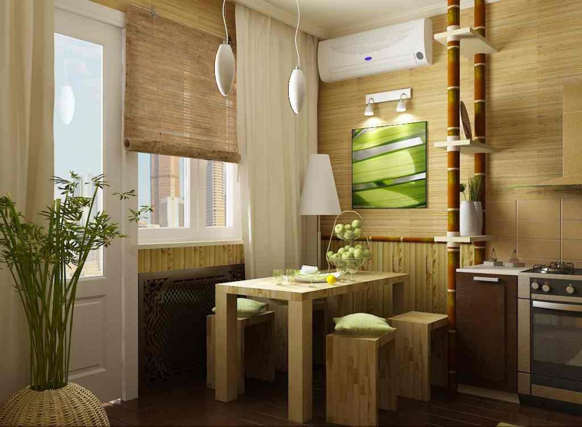 Как клеить бамбуковые обои?.
