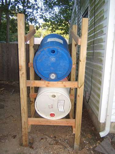 Использование дождевых вод