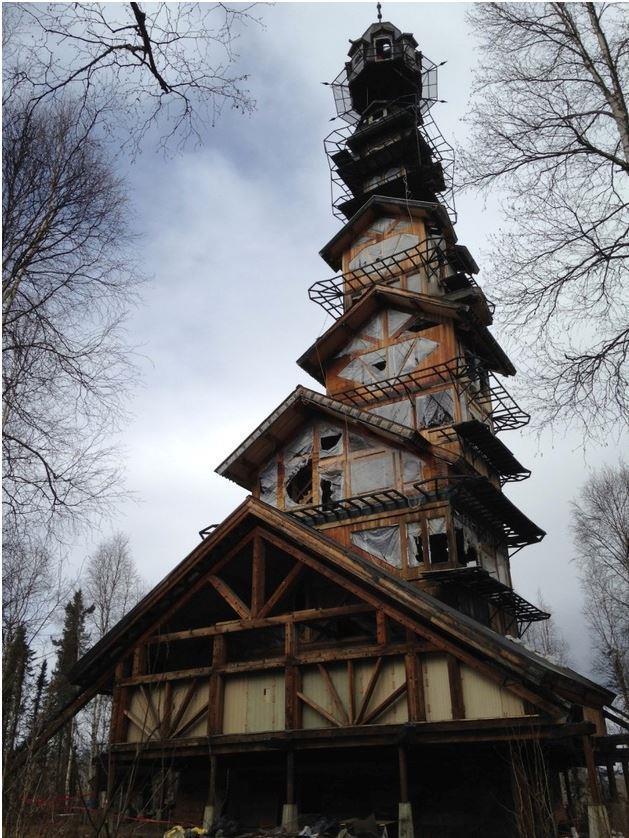 Необычная архитектура своими руками