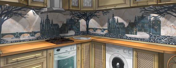 Кухня в 9 метров: создаем уют. Дизайн-проект