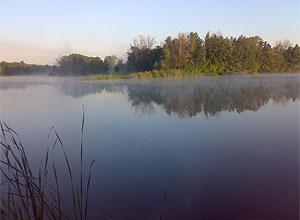 Озеро в заповеднике