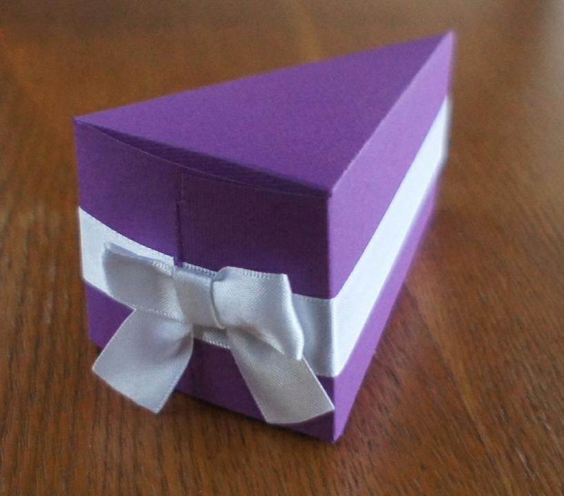 Упаковка в виде торта