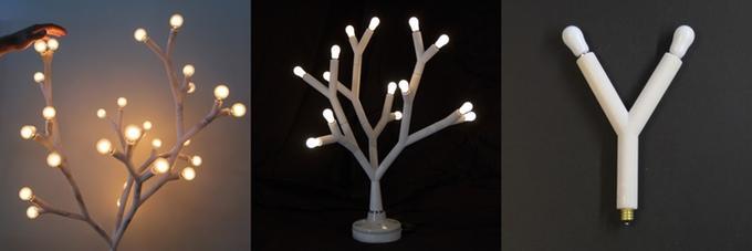 Потрясающий конструктор для сбора необычных осветительных приборов