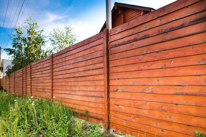Какой забор для участка лучше: издерева или профлиста?