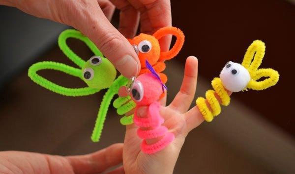 Игрушки для пальчикового театра