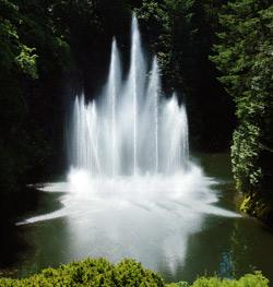 «Каскадные» насадки для фонтанов