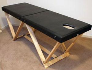 раскладной <u>сделай</u> массажный стол