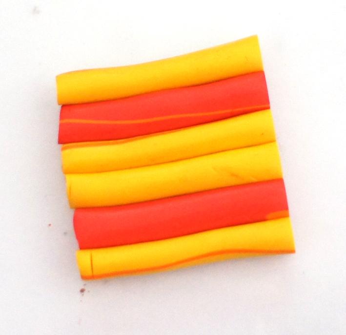 Цветная полимерная глина