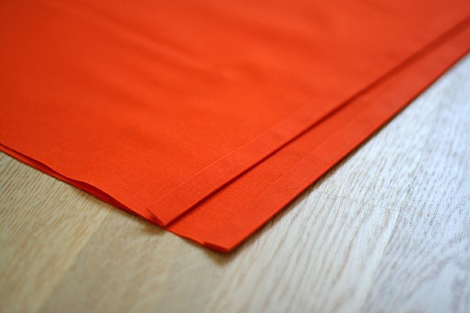 Линии сгибов ткани