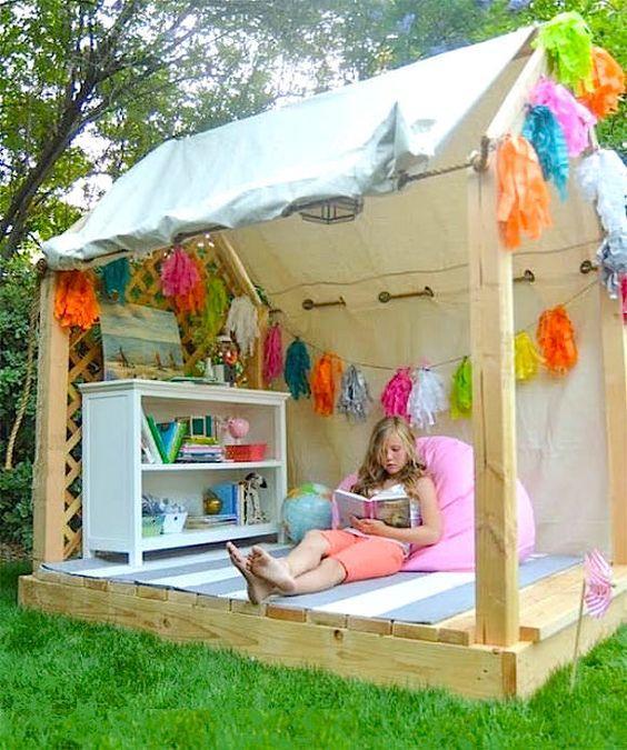Детский домик игровой своими руками фото