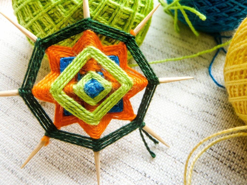 Плетем пояс
