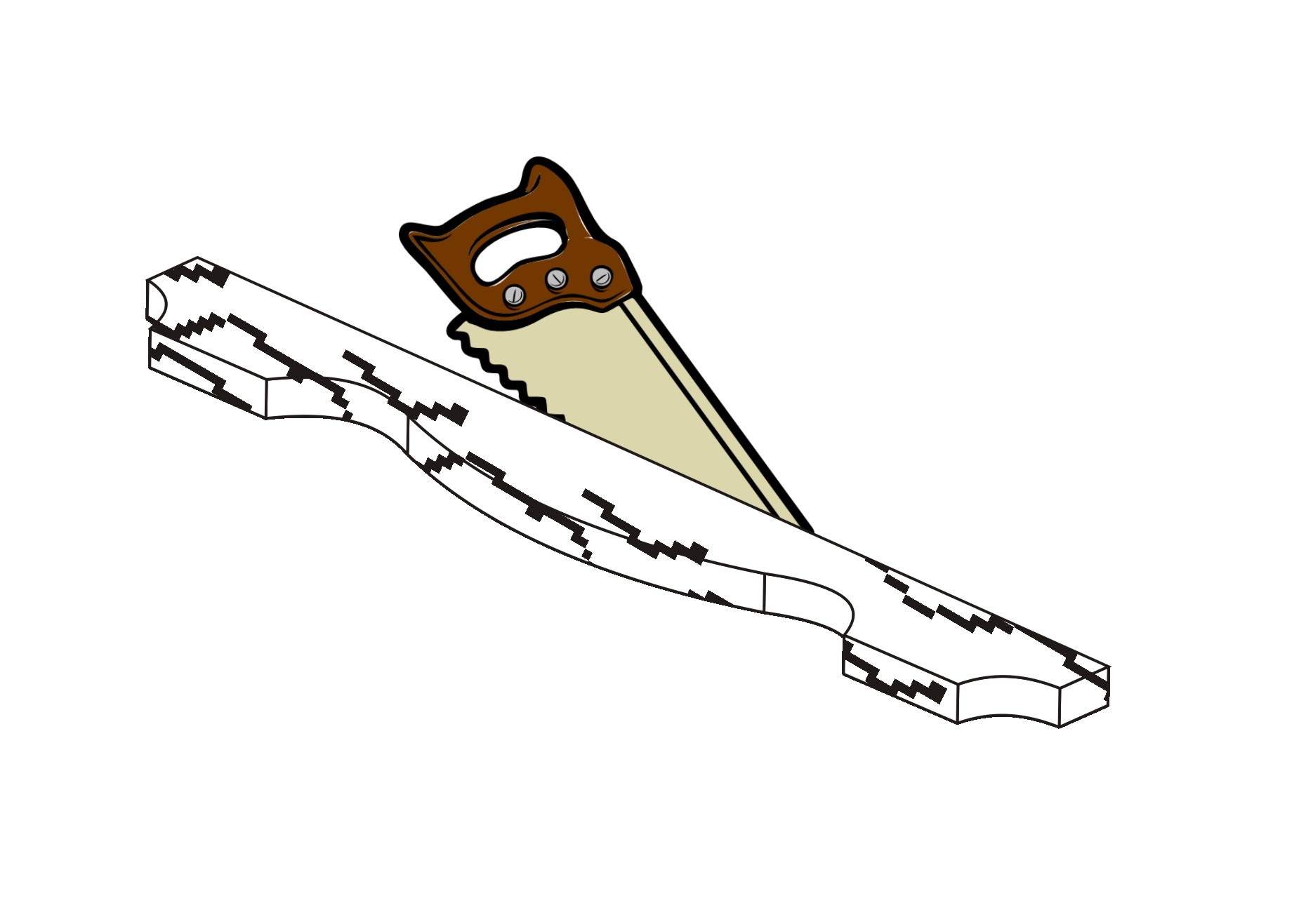 Самодельная вешалка