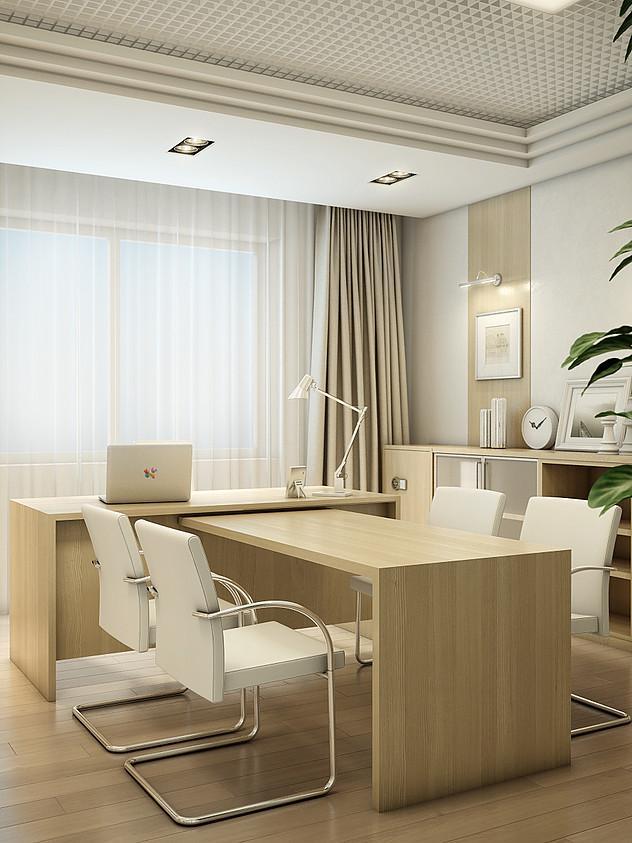 Интерьер офиса ООО «ИНГТ», напоминающий домашний кабинет