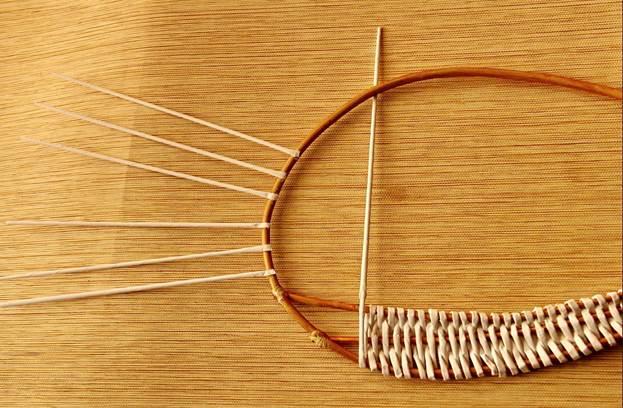 Плетем корзинку