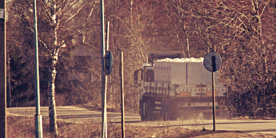 Транспортировка газобетона