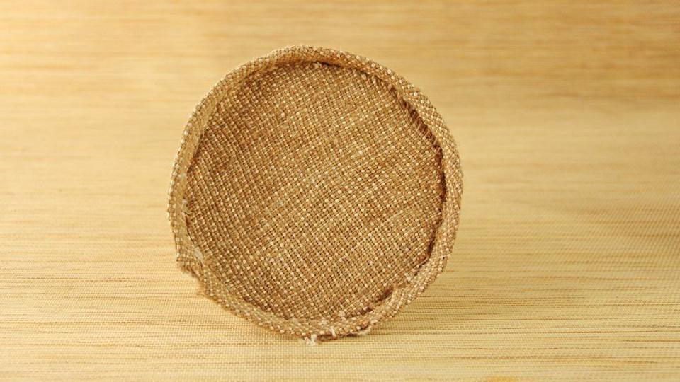 Круг с тканью
