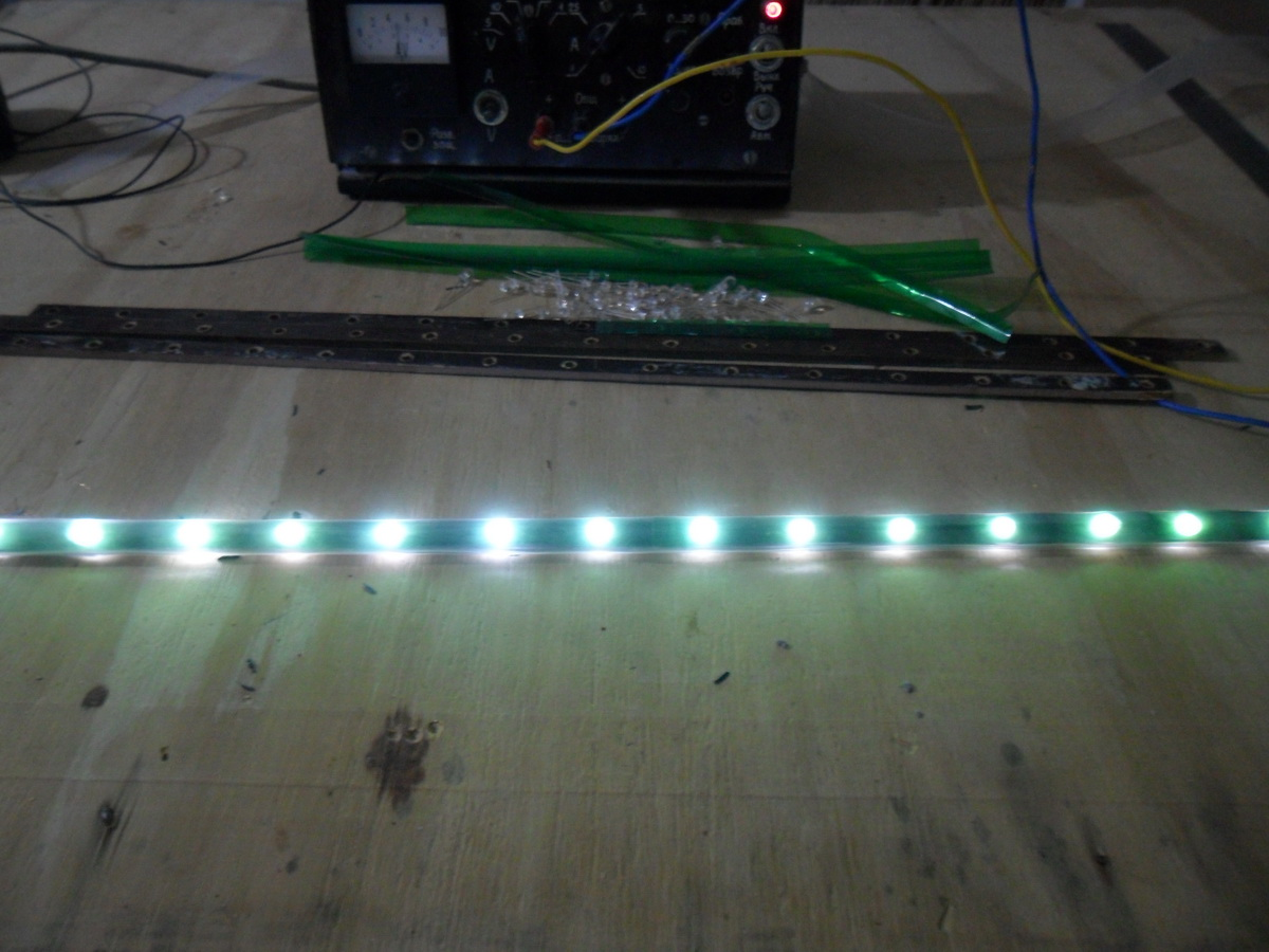 Самодельная светодиодная лента