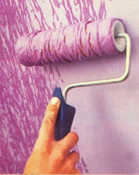 Как покрасить стены, чтобы небыло скучно