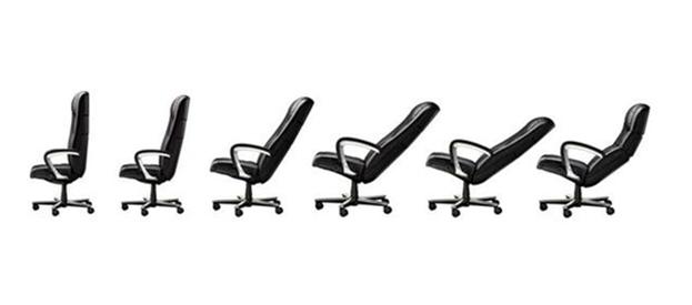 Положения спинки кресла