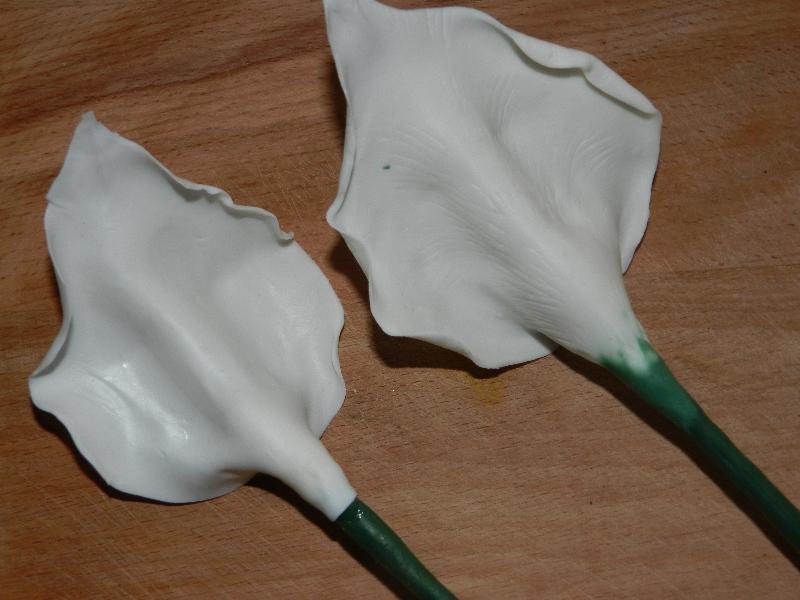 Мастер-класс: белые каллы изхолодного фарфора