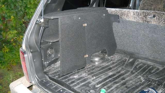 олка багажника ваз