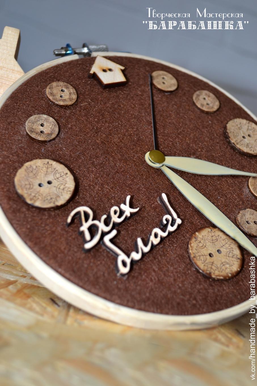 Часы своими руками : создаем из подручных материалов 90