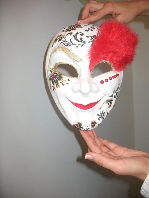 Венецианская маска изготовление своими руками