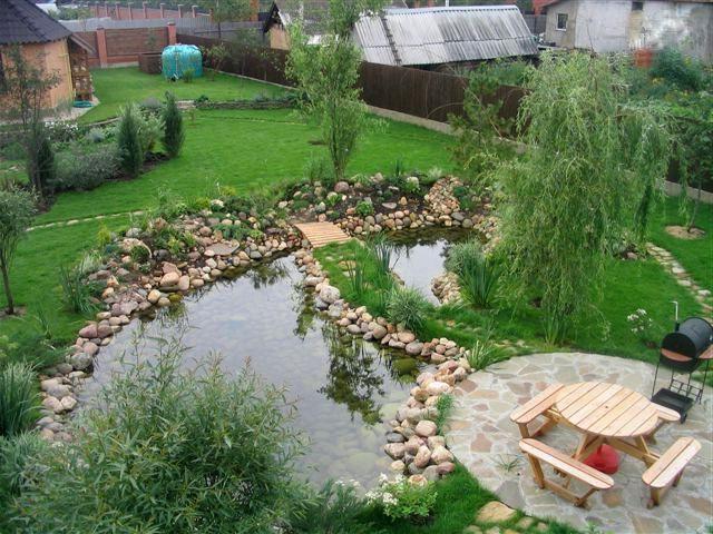 Как сделать искусственный пруд надачном участке
