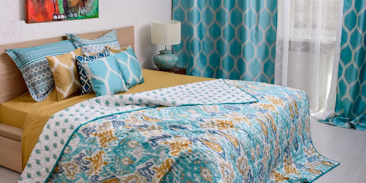 Совершенная спальня стекстилем WESS